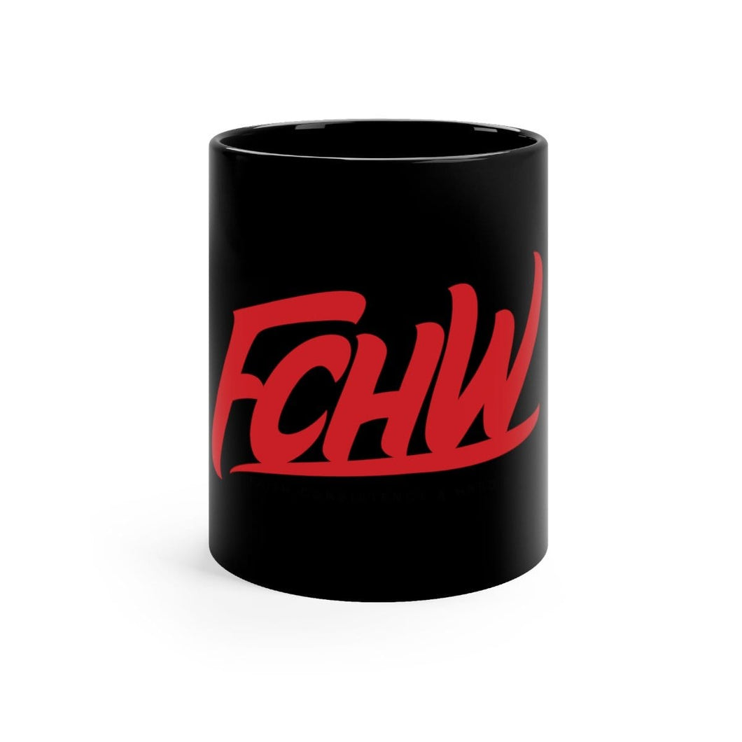 FCHW Original Red|Black mug 11oz