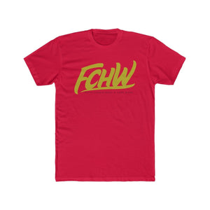 FCHW Cotton Crew Tee (Goldish Font)