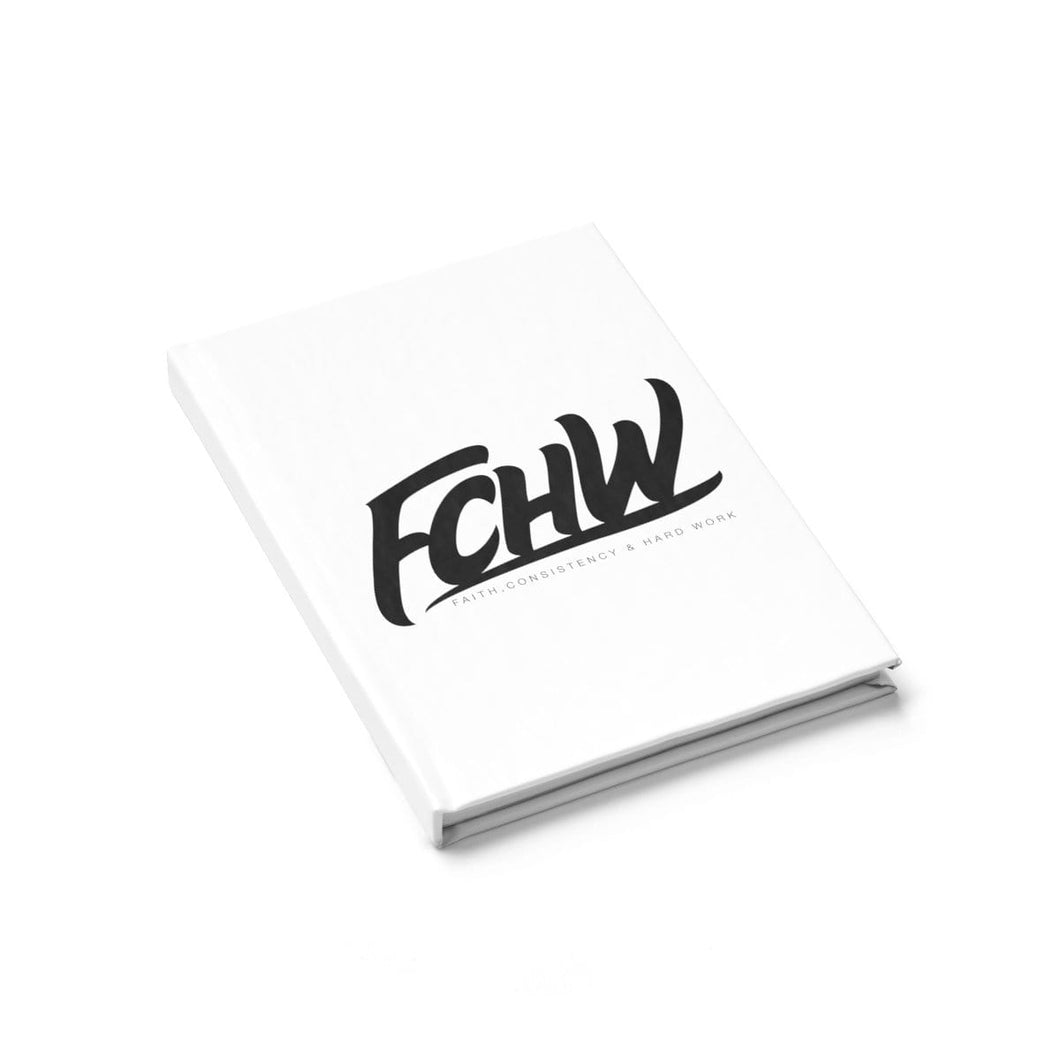 FCHW Journal - Ruled Line (Original Black Font)