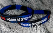 "Load image into Gallery viewer, 2 ""Peace Is Everything"" FCHW Wristbands"