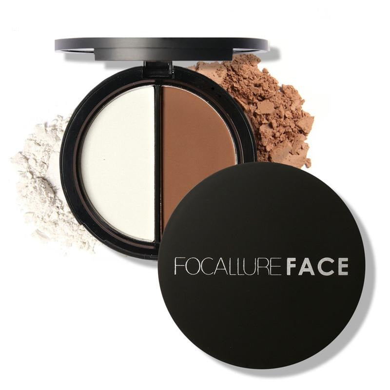 FOCALLURE Face Highlighter Bronzer Palette