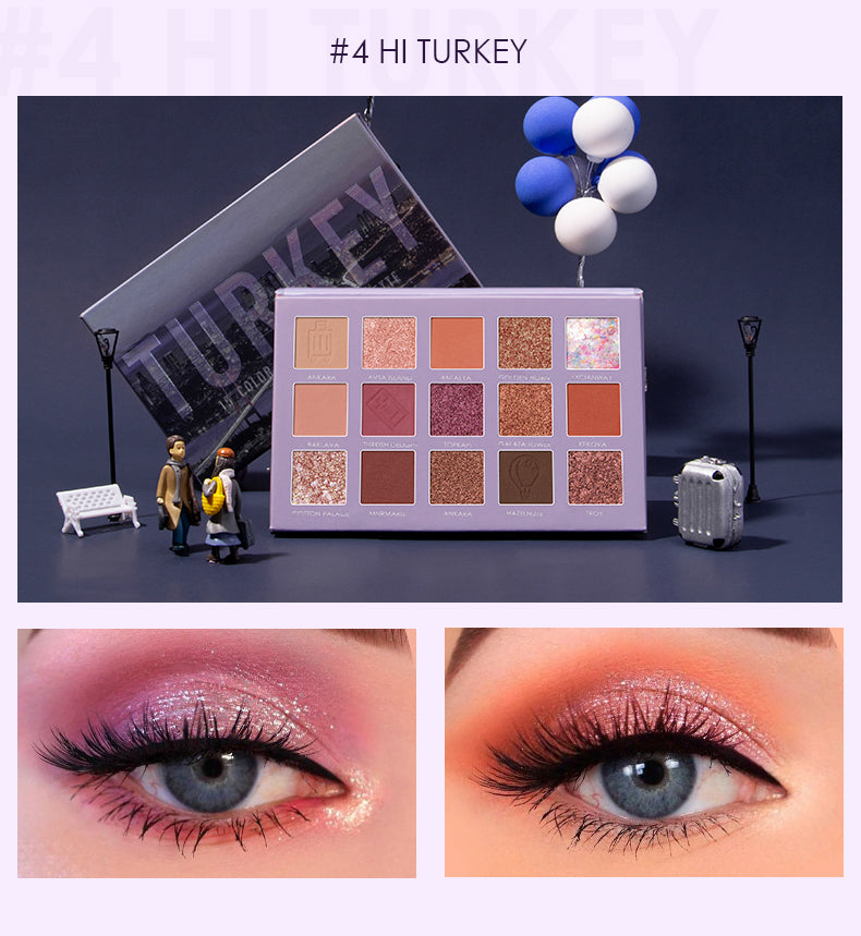 FOCALLURE Go Travel - TURKEY Eye shadow palette