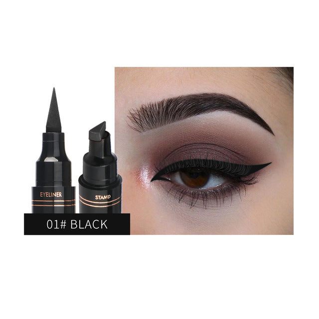 QIBEST Double Head Eyeliner Stamp Multi Colors