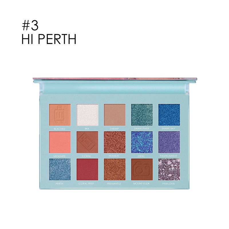 FOCALLURE Go Travel - PERTH Eye shadow palette