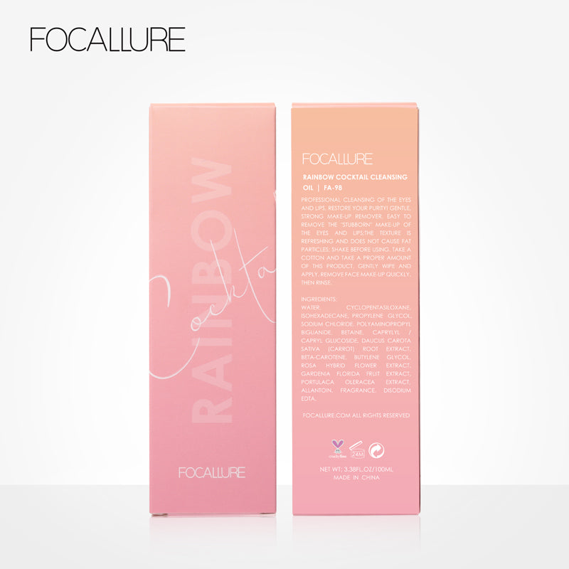 FOCALLURE Rainbow Cocktail Cleansing Oil
