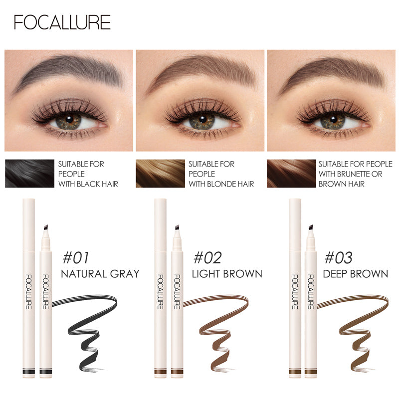 Focallure Fluffmax Tinted Brow Ink Pen