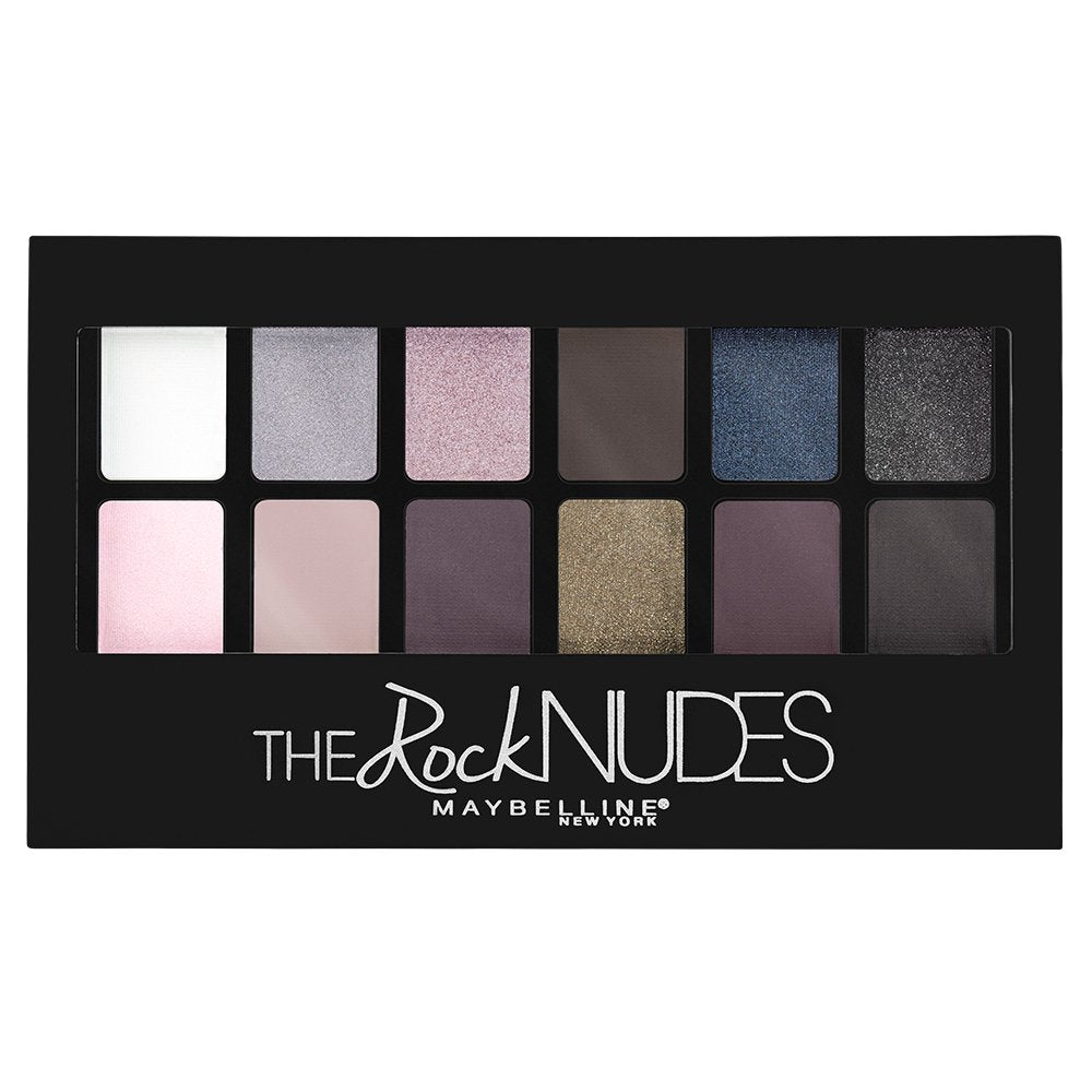 Maybelline New York The Rock Nudes Eyeshadow Palette