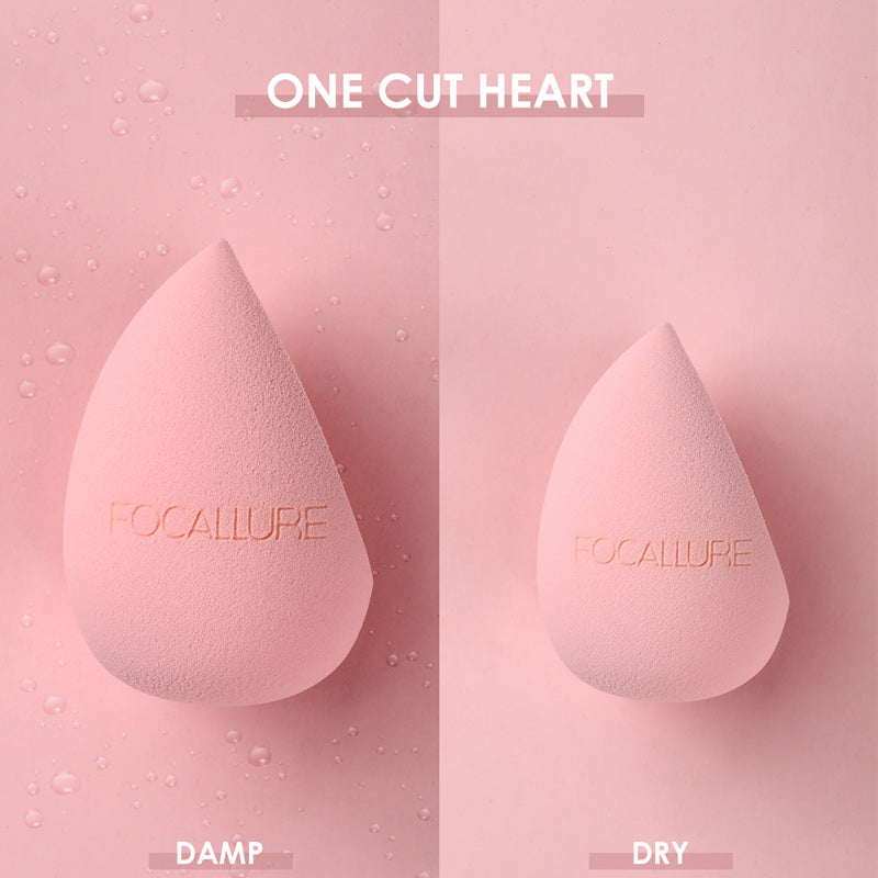 Focallure One Cut Heart Sponge