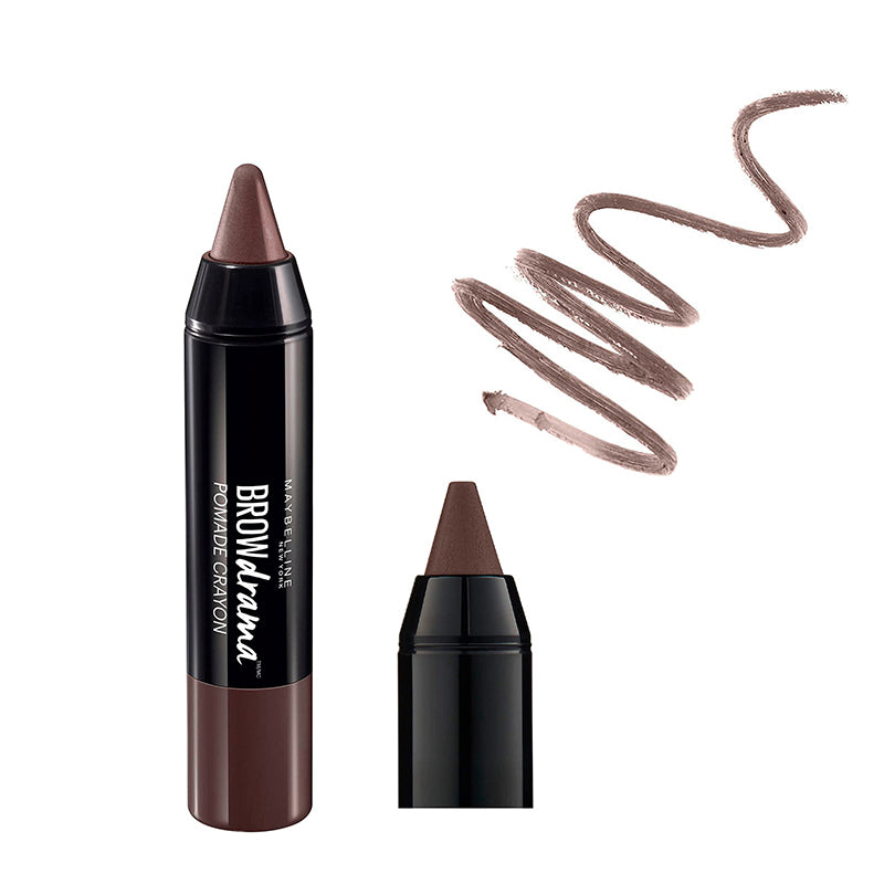 Maybelline New York Brow Drama Pomade Crayon 2 Medium Brown