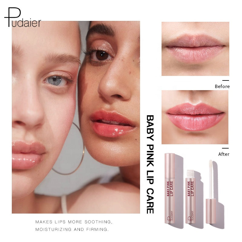 Pudaier Baby Pink Lip Care Moisturizing Balm