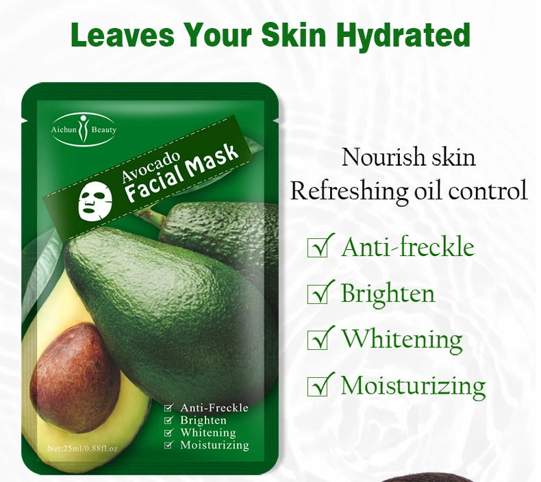 Face Oil Control 1 Pcs Multi Plant Extraction Mask