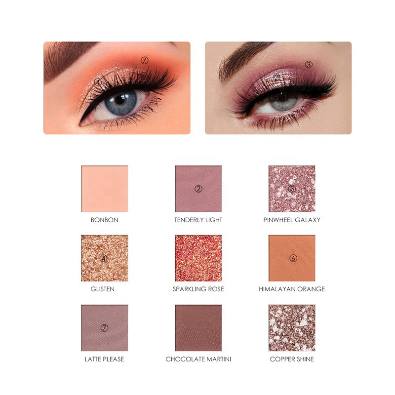 Focallure Sunrise Impressionism Eye shadow Palette