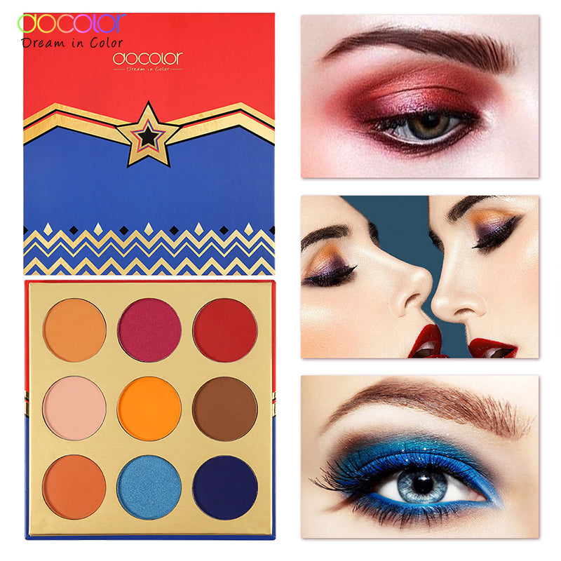 Docolor Starlight Goddess Eye shadow 9 Color Palette