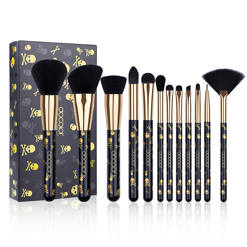 Goth Collection - 12 piece Brush Set