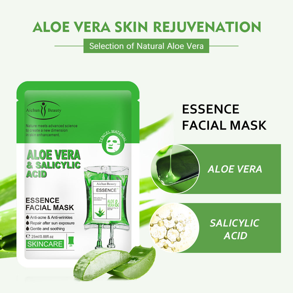 Aloe Vera & Salicylic Acid Face Mask 1 Pcs