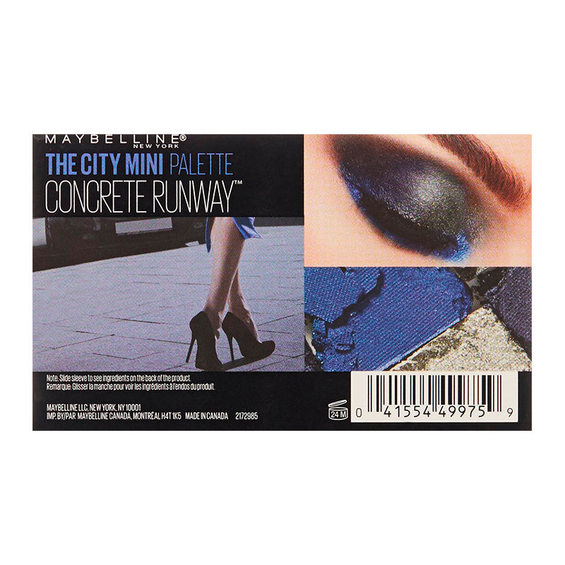 Maybelline New York The City Mini Palette 440 Concrete Runway