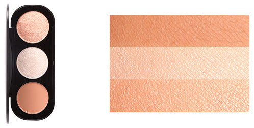 Focallure 3 Colors Blush Cosmetic Palette