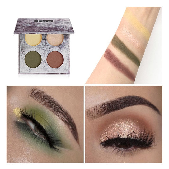 Pudaier 4 Colors Eye shadow Makeup Palette