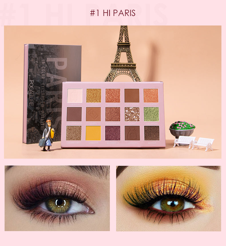 FOCALLURE Go Travel - PARIS Eye shadow palette