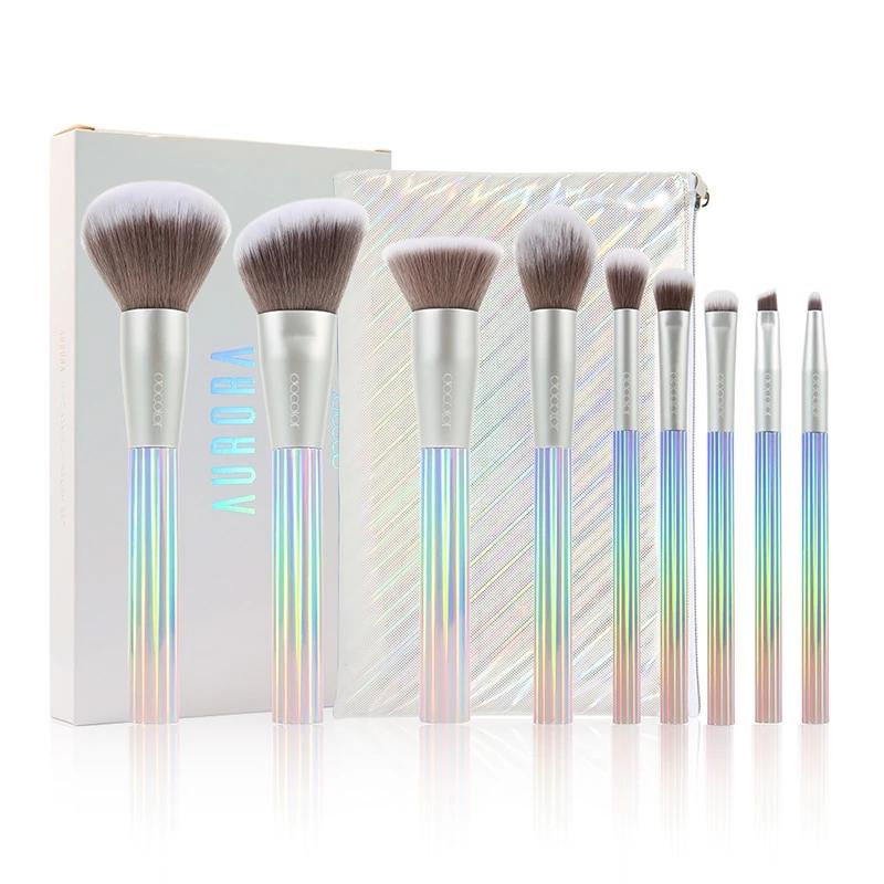 AURORA 9 Pieces Makeup Brush Set
