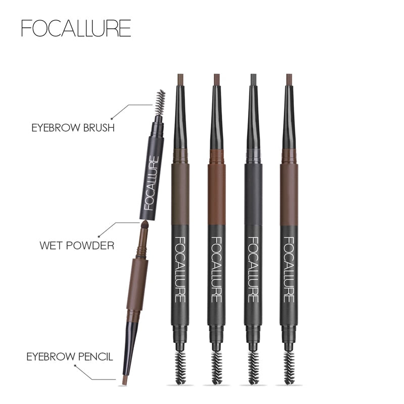 FOCALLURE 3 in 1 Auto Brows Pen