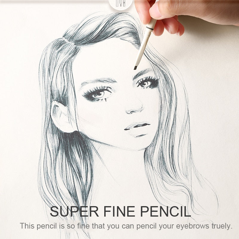 FOCALLURE Superfine Eyebrow Artist Sketch Pen