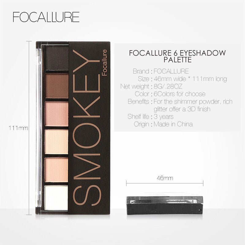 Focallure Smokey Eyeshadow Palette