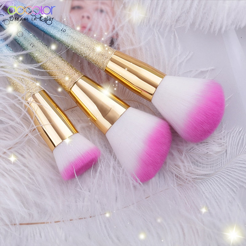 Unicorn Makeup Brush 3PCS/Set