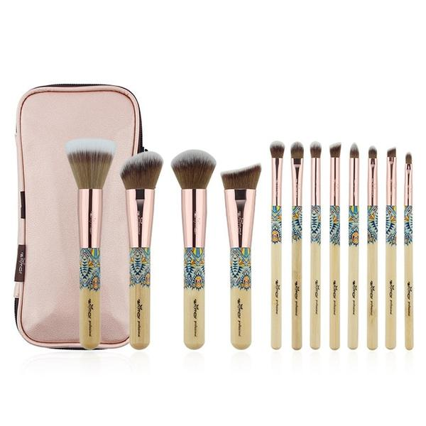 Bamboo Makeup Brush Set Photo