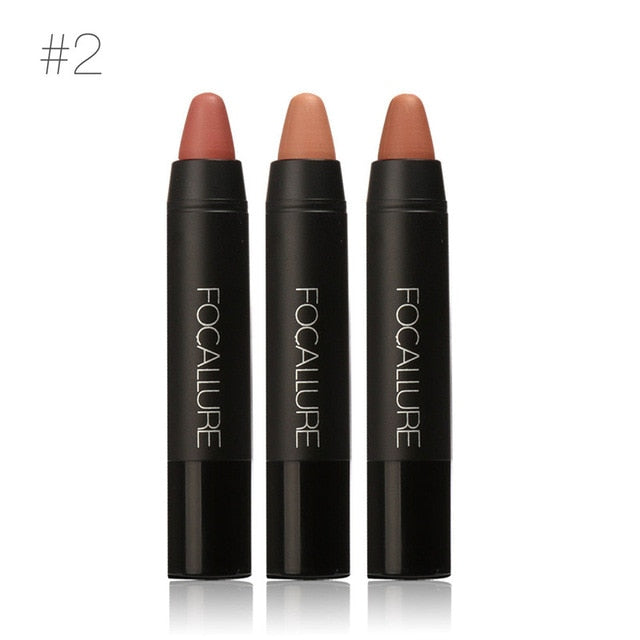 Focallure Lip Stick Color 3pcs/set
