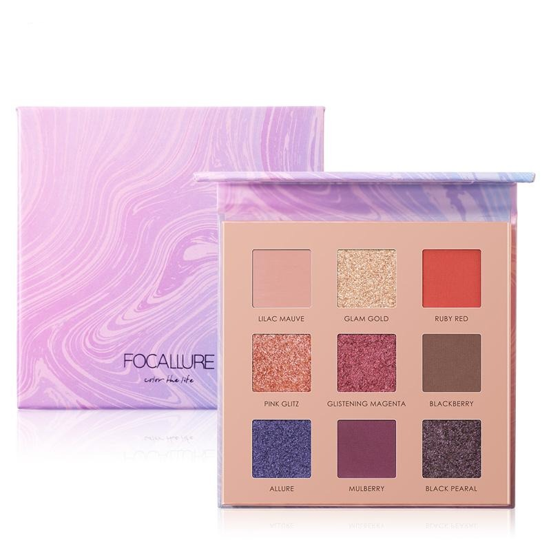 Focallure 9 Color - Pan Eyeshadow Palette