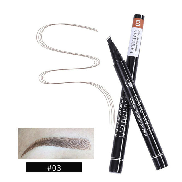 black cosmetic microblading pen