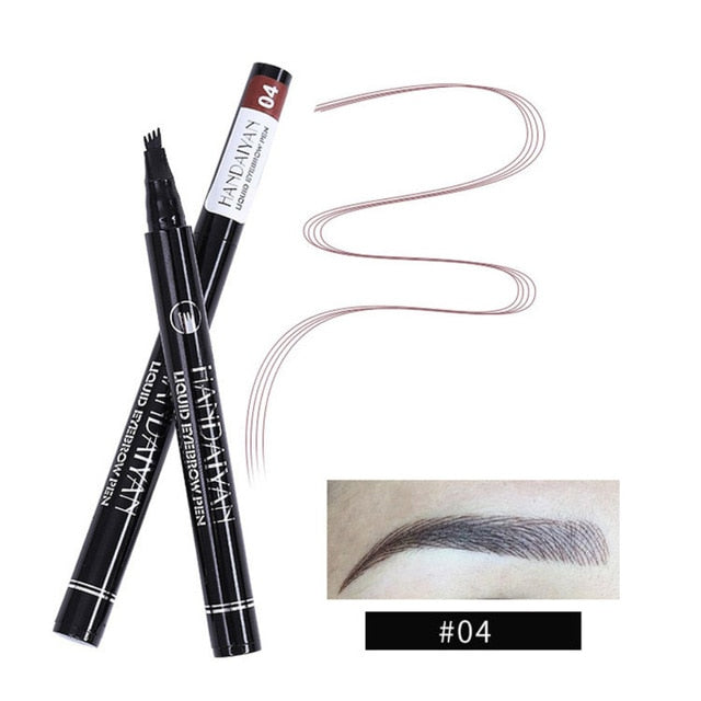 Microblading pen dark brown