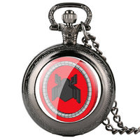 Classic Pocket Watch Wow World of Warcraft Tribal Emblem Symbol Game Movie Pocket Watches Women Gifts Pocket Watch Vintage