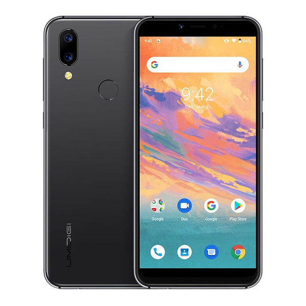"UMIDIGI A3S Android 10 Global Band 3950mAh Dual Rear Camera  5.7"" Smartphone 13MP Selfie Triple Slots Dual 4G VoLTE Celular - toto1611"