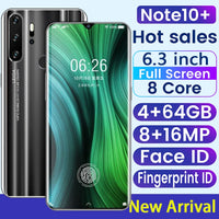 SAILF Note10 Plus Android 9.0 Octa Core Mobile Phone 6.3' FHD+ 16MP Triple Camera 4G RAM 64GB ROM Smartphone gsm wcdma unlocked - toto1611