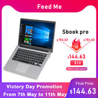 14.1 inch Student Laptop 4GB RAM 64GB ROM for Intel Celeron N3050 Windows 10 Computer with Bluetooth Camera for game netbook
