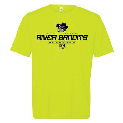 Quad Cities River Bandits Performance Tee