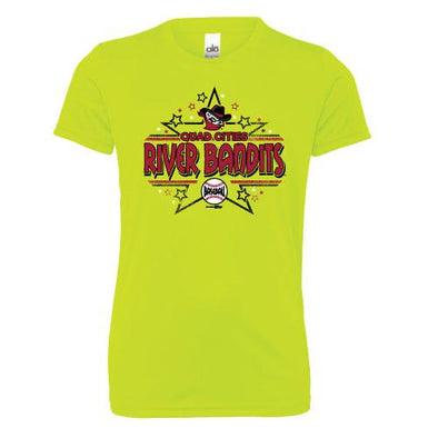 Quad Cities River Bandits BR Youth Performance Tee