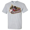 Quad Cities River Bandits Primary Logo T-Shirt