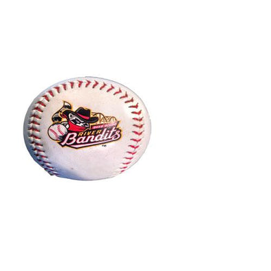 Quad Cities River Bandits White Logo Baseball