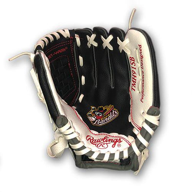 Quad Cities River Bandits Youth Baseball Glove