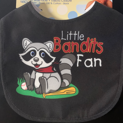 Quad Cities River Bandits Black Bib