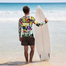 Load image into Gallery viewer, Men's Rash Guard - The Matthew Vasquez Collection