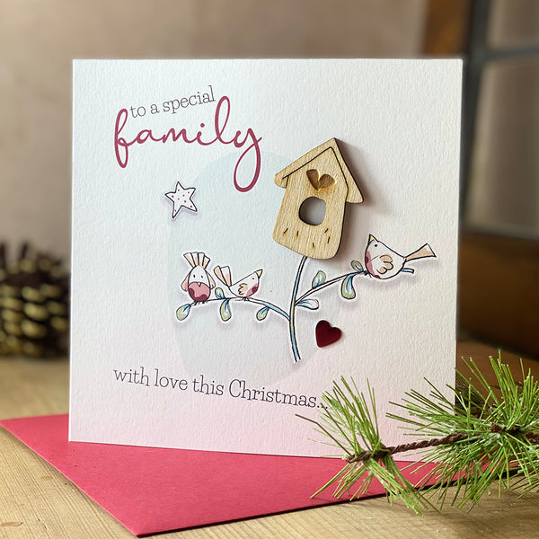 To a special family with love this Christmas…x