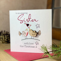 To an amazing Sister with love this Christmas…x