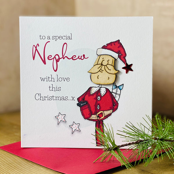 To a special Nephew with love this Christmas..x
