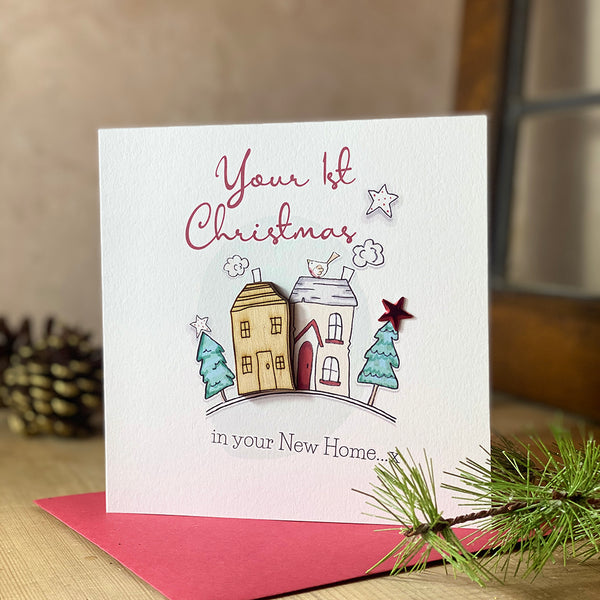 Your 1st Christmas in your New Home x
