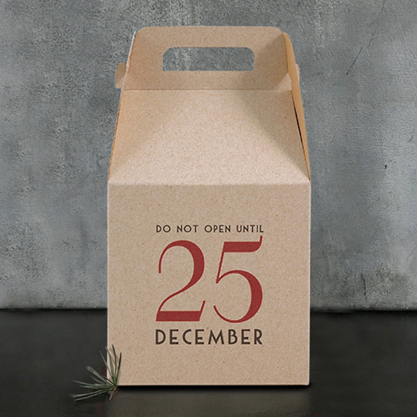 Do not open until 25th December! - Box