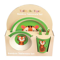 Teddy The Tiger Bamboo Tableware